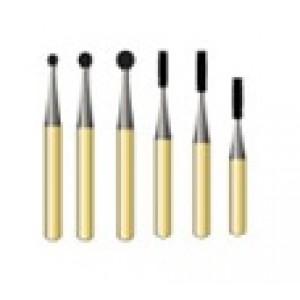 Gold Carbide Burs
